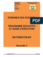 Programme Eductif maths 2C CND 20-2