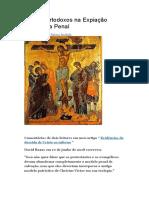 Cristãos Ortodoxos sobre Expiação Substitutiva Penal