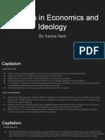 Economics Changes in Idealogies