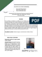 6. Fosfatos en agua por colorimetria (I. 5.0)