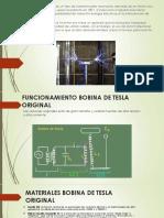 presentacion bobina de tesla