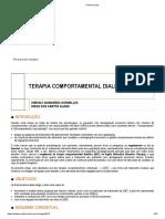 TERAPIA COMPORTAMENTAL DIALÉTICA