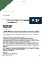 TERAPIA DE RECICLAGEM INFANTIL E SEUS