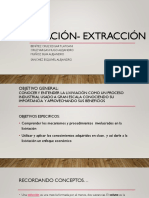 Lixiviación- Extracción