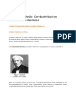Conductividad Eléctrica de las Disoluciones