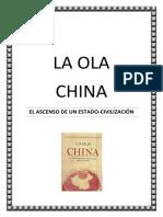 China. LA OLA CHINA. 2017