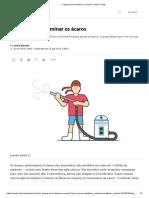 11 passos para eliminar os ácaros _ Saúde é Vital