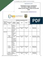 Agenda - PENSAMIENTO LOGICO Y MATEMATICO - 2019 II Período 16-06 (616)