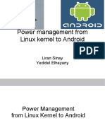 power management from  linux