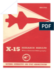 X-15 Research Results With a Selected Bibliography