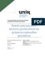 Vila Badia-Estres psicosocial y factores protectores en primer episodio psicótico