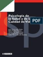 Psicología de la salud y de la calidad de vida - León Rubio, José María