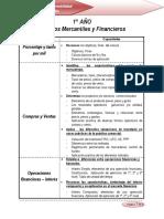 BTC CALCULO MERCANTIL Y FINANCIERO 1° AÑO 2011