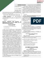 DECRETO SUPREMO N° 022-2020-PCM