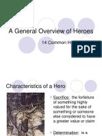characteristics of a hero