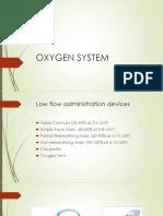 OXYGEN SYSTEM