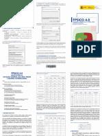 FPSICO 4 Manual de instalacion y Resumen ejecutivo