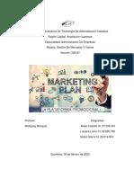 plan de marketing la plataforma promocional
