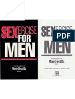 Sexercise for Men From the Editor's of Men's Health Magazine