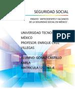 Antecedentes y alcances de la Seguridad Social en México