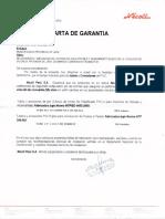 CERTIFICADO DE CALIDAD TUBERIA valencia