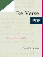 David R. Slavitt-Re Verse_ Essays on Poetry and Poets-Northwestern University Press (2005).pdf