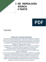 Presentación Curso de Hidrología Básica _V PARTE_29Abr2015
