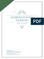 ALIMENTACION Y SANIDAD