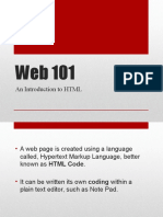 Updated Web101