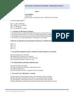 Filosofia - Exercícios de Exame Nacional Ação Humana Determinismo Radical Determinismo Moderado Libertismo