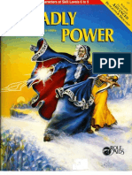 Mayfair Games - Role Aids - 716 - Deadly Power