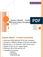 Group P1 - DCMK - Exxon Mobil Falling Production Problem