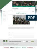 Reseña Histórica - Portal Policia