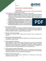CUESTIONARIO SEGUNDO PARCIAL DERECHO CIVIL IV