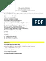 Ejercicios sistemas de costos unidad 1