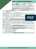 Plan 5to Grado - Bloque 2 Matemáticas (2016-2017)