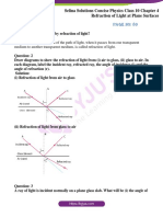 Selina Refraction-of-Light-at-Plane-Surfaces