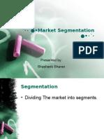 Market Segmentation Shashank