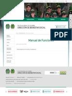 Manual de Funciones - Portal Policia