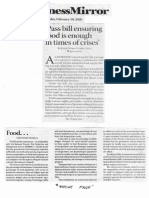 Business Mirror, Feb. 10, 2020, Pass bill ensuring food enough in times of crises.pdf