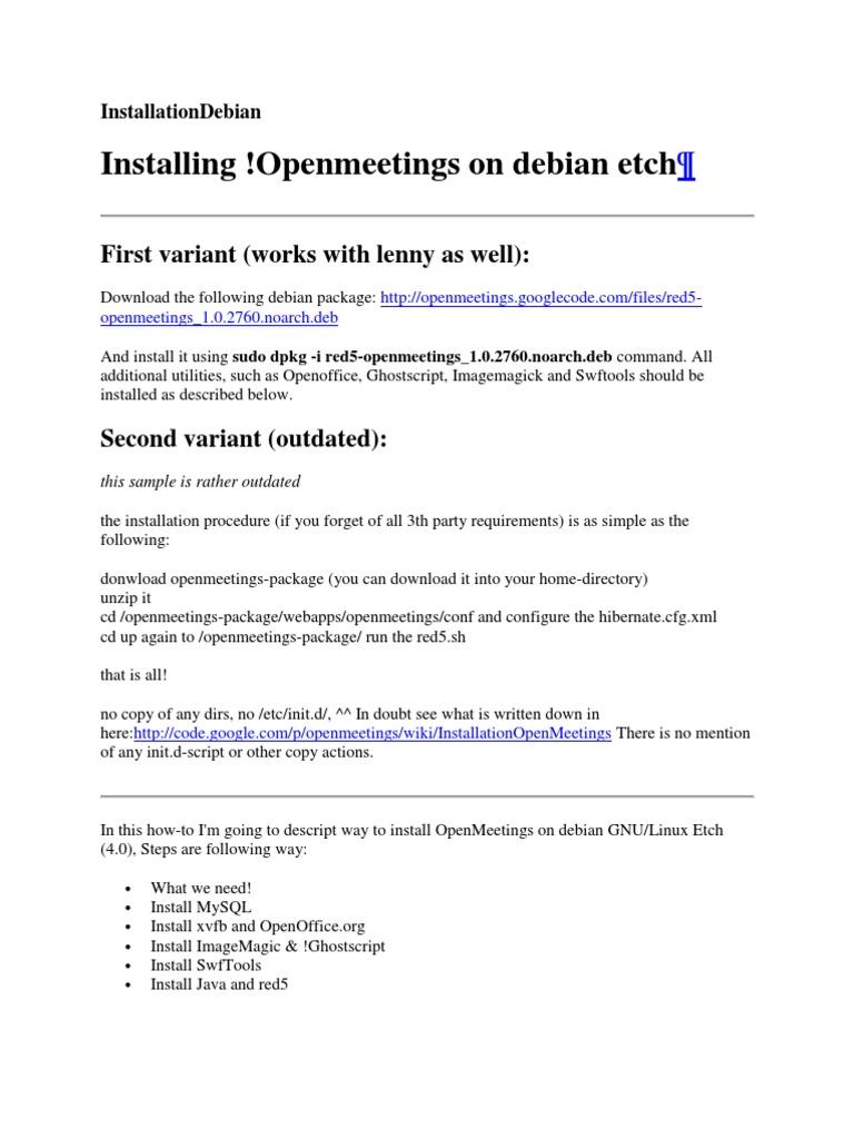 Download Software Install Openmeetings - cssxsonar