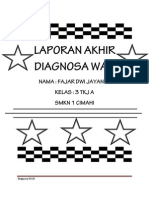 Laporan Akhir Diagnosa Wan Fajar Dwi Jayanto