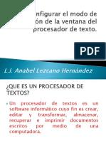 planeacion de un documento, Conceptos basicos Procesador de Texto