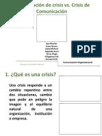 5.1 COMUNICACIÓN DE CRISIS..