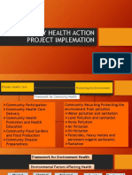 COMMUNITY HEALTH ACTION PROJECT IMPLEMATION