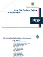 Book Partial - Chapter 7  Testing Flat Surface Optical Components