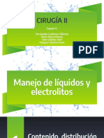 Manejo de líquidos y electrolitosoo