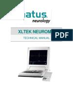 ELECTROMIOGRAFO MARCA XLTEC MODELO NEUROMAX 1004