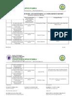 FM-CID-003 Instructional Supervisory Accomplishment Report November