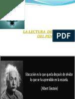 DESARROLLO DEL PENSAMIENTO Y LA LECTURA